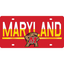 usc alumni license plate maryland terrapins license plates of maryland license