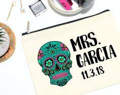 Bridal Makeup Bags Bride Makeup Bag Bridal Gift Personalized Wedding Gift Bridal