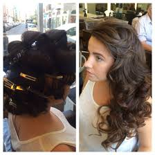 pin curl pin curl blowdry bar wedding hair and accessories