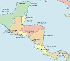 map of central and south america with country names centralamerica vi jpg