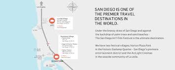 San Diego Trolley Map San Diego Film Festival Oct 4 8 2017