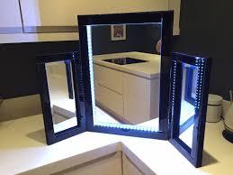 bedroom mirror with lights u003e pierpointsprings com