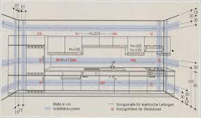 steckdosen k che elektroinstallation installationszonen