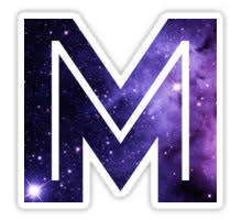 the letter m space
