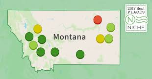 Montana Map Cities by 2017 Best Places To Live In Montana Niche