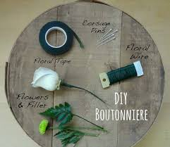 how to make boutonnieres how to make boutonnieres with real flowers floral trends diy
