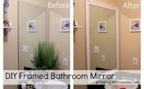 Framing Bathroom Mirrors by Trim Around Bathroom Mirror Lovely On Bathroom With How To Frame A
