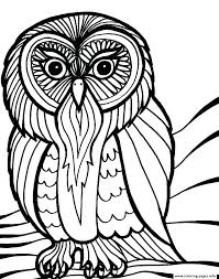 coloring page for adults owl owl mandala coloring pages for adults free printable owl coloring