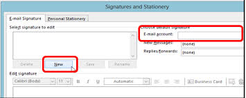 how to create an email signature in outlook solo practice