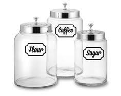 kitchen canister labels cij vintage sears roebuck ceramic kitchen canister set coffee