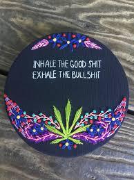 stoner art trippy smoke chick stoner art and stoner stoner art rainbow marijuana cannabis psychedelic wall hanging home decor weed maryjane embroidery