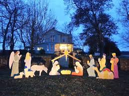 nativity outdoor outdoor nativity store home