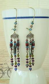 Chandelier Earrings Etsy Gemstone Jewelry Chandelier Earrings Amethyst Peridot Earrings