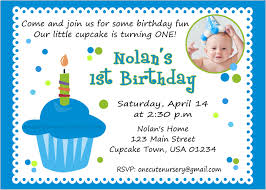 caillou birthday invitations one cute nursery sweet little cupcake boy birthday baby u0027s first