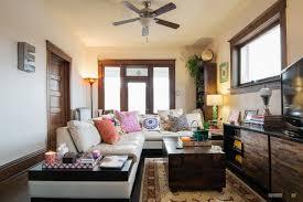 living room bohemian chic living room ideas blue leather sofa