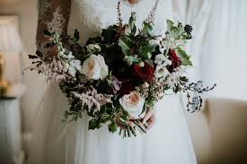 wedding flowers ayrshire sneak peek kate michael brig o doon winter wedding ayrshire
