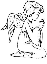 sélection de dessins de coloriage ange à imprimer sur laguerche