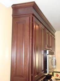 Contemporary Crown Molding Kitchen Cabinets Detroit Merillat - Kitchen cabinets moulding