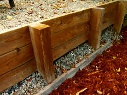 ahmed shows how to build an easy and affordable wooden retaining