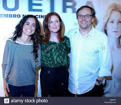 Julianne Moore Blindness Julianne Moore Alice Braga And Fernando Meirelles The Press Stock