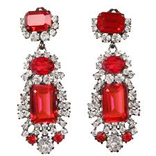 ruby drop earrings drop earrings ruby jewels by alan