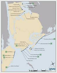 New York City Street Map by New York City Long Island Beach Public Guide From