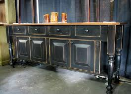 Vintage Buffets Sideboards Vintage Black Sideboard Buffet U2014 New Decoration Elegant Black