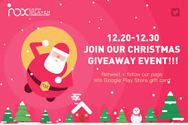 come and join our christmas giveaway event on both facebook