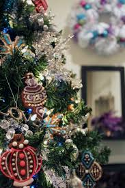 worth pinning wall tree with real cookie ornaments