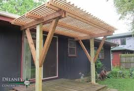 How To Build A Pergola On An Existing Deck by Pergola Crest Hill Contractor Delaney Contracting Ltd