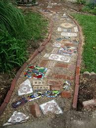 Backyard Tile Ideas 20 Creative Ideas For Reusing Leftover Ceramic Tiles Hative