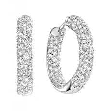 diamond hoops pave diamond hoop earrings hd earring diamantbilds