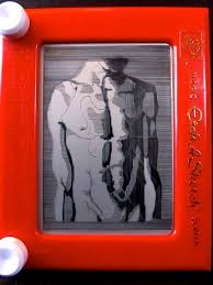 creating art on an etch a sketch kcur