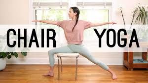Armchair Yoga For Seniors Chair Yoga Yoga For Seniors Yoga With Adriene Youtube