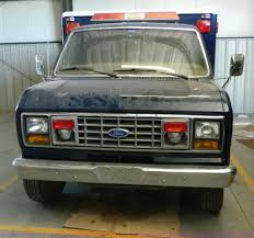 1989 ford econoline e350 ambulance item ax9707 sold sep