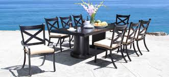 arlington house jackson oval patio dining table shop patio furniture by collection cabanacoast store locator