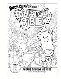 volume 8 coloring page words to make us wise whats in the bible