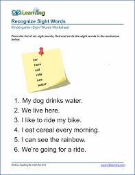 free preschool u0026 kindergarten vocabulary worksheets printable