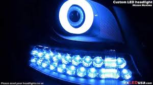 2016 nissan maxima youtube exledusa nissan maxima custom led headlight youtube