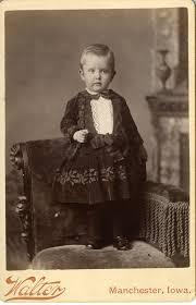 victorian boy in short dress manchester iowa fotos antiguas
