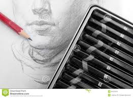 learning pencil sketching royalty free stock photo image 30187575