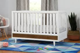 Crib Bed Convertible Eero 4 In 1 Convertible Crib With Toddler Bed Conversion Kit
