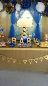 blue and gold baby shower decorations exquisite decoration baby shower prince theme fascinating best 25