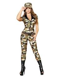 Halloween Army Costumes Womens Womens Military Costumes Military Halloween Costume Women