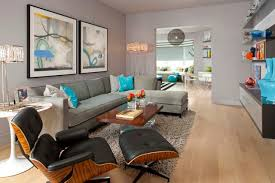 eames chair living room photo page hgtv