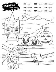 free halloween worksheets edhelper com
