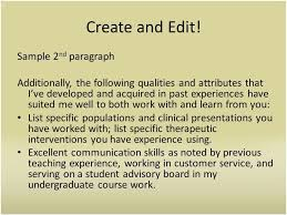 past experience paragraph cover letters a cover letter is a