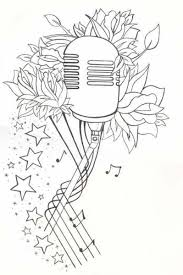 25 unique mic tattoo ideas on pinterest tiny tattoo microphone