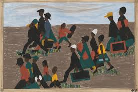 Modern Art by One Way Ticket Jacob Lawrence U0027s Migration Series And Other