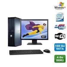pc bureau wifi ordinateur de bureau avec wifi prix pas cher cdiscount
